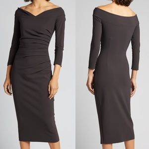 ✨ NWT Chiara Boni Suzie Shirred Dress ✨